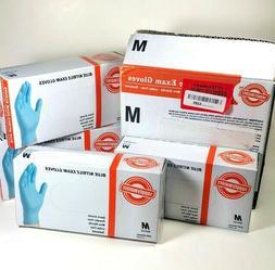 400 Supplymaster Blue Nitrile Exam Gloves Latex Powder Free