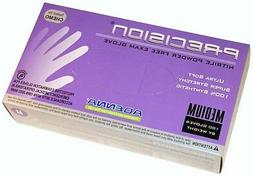 4000 Powder Free Nitrile Gloves Adenna Precision Medium  FRE