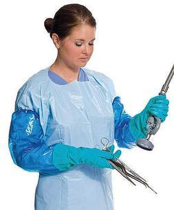 PolyCo 41550 Nitrile Sleeve Gloves Food Safety Laboratory De