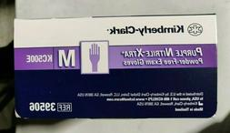 50 Kimberly-Clark KC500E Purple Nitrile-Xtra Medical Exam Gl