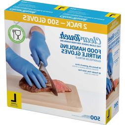 500 Medline Clear Touch Food Handling Nitrile Gloves Latex a