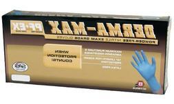 500 SAS Derma MAX Powder Free Extra Large Nitrile Gloves 8 m