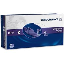 55081 Halyard Health KC500 Purple Nitrile Exam Gloves - Smal