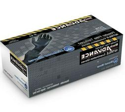 Diamond Gloves 6.3 mil Black Advance Nitrile Examination Glo