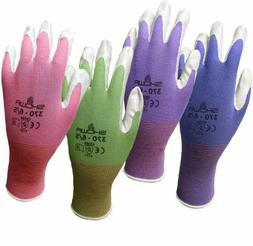 6 Pack Showa Atlas NT370 Atlas Nitrile Garden Gloves - Mediu