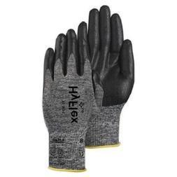 6 pair Ansell HyFlex 11-801 Foam Nitrile Coating Glove Size