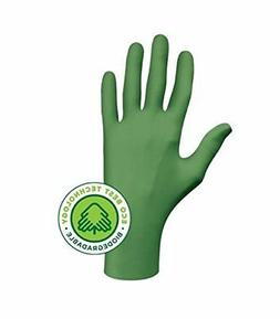 Showa 6110PFM Biodegradable Disposable Nitrile Gloves Medium
