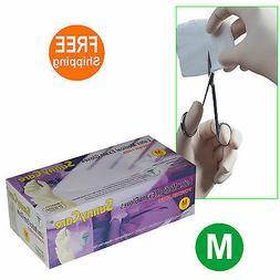 SunnyCare #6602 Disposable Powder-Free Latex Medical Exam Gl