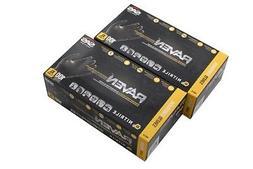 SAS Safety 66519 Raven Powder-free Disposable Black Nitrile