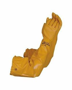 Atlas 772 Nitrile Coated Gloves 26 inch Long Cotton Lined, C
