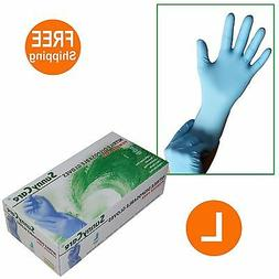 SunnyCare #8803 Nitrile Disposable Gloves Powder Free  100 -