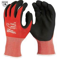 Milwaukee 48-22-8903 8x Pair Cut Level 1 Dipped Gloves - X L