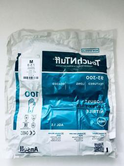 ANSELL 93-300 NITRILE GLOVES MEDIUM 7.5-8 LAB FOOD MED VIRUS