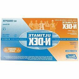 """Showa Best 9905PFM Medium 11"""" Blue N-Dex Nitrile Powder Free"""