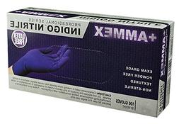 AMMEX - AINPF44100 - Medical Nitrile Gloves - Disposable, Po
