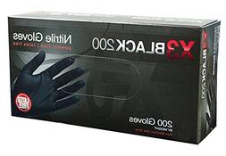 AMMEX - BX3D44100-BX - Nitrile Gloves - Disposable, Powder F