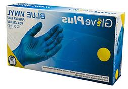 AMMEX - IVBPF46100 - Vinyl Gloves - GlovePlus - Disposable,