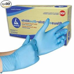 Dynarex SafeTouch Nitrile Exam Gloves, Non Latex, Powder-Fre