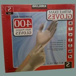 Kirkland Signature Nitrile Exam 400 Multi-Purpose Gloves Sma