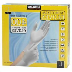 Kirkland Signature Nitrile Exam Multi-Purpose Large Gloves L