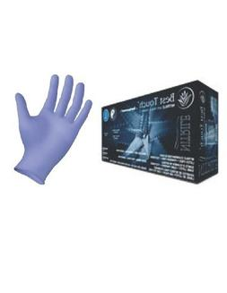 Nitrile Exam Gloves with Aloe and Vitamin E, Powder Free, Be