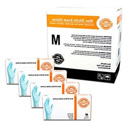 SupplyMaster - SMBLNE3M - Exam Nitrile Gloves - Disposable,