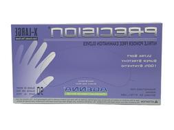 Adenna Precision 4 mil Nitrile Powder-Free Gloves - Purple,