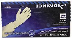 Pro Diamond Gloves Advance Double Chlorinated Powder-Free Te