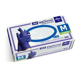 Alilmed SensiCare Silk Nitrile Exam Gloves - 2500 Per Case