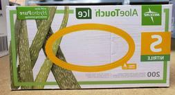 Medline AloeTouch Ice Nitrile Exam Gloves - Size: Small