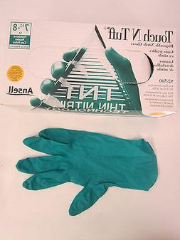 """Ansell Touch N Tuff Nitrile ANE92-500 Powdered 9.5"""" 5 Mil Gl"""