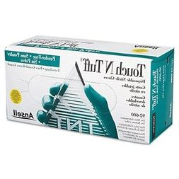 ansellpro touch n tuff nitrile gloves teal