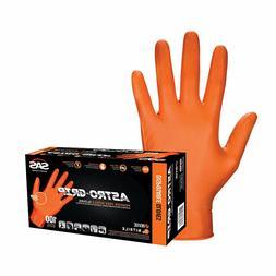 SAS Safety Astro Grip Powder-Free Disposable Nitrile Gloves,