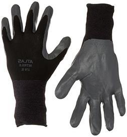 12 Pack Showa Atlas 370 Black Work Gloves XL