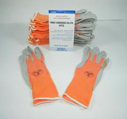 ATLAS 370 SHOWA WORK GLOVES  NITRILE RUBBER PALMS - 12 PAIR