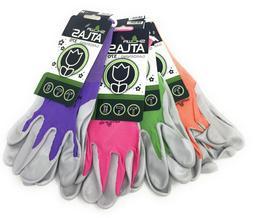 Atlas Showa 370 Pastel Nitrile Gardening Gloves | 4 Pack | A