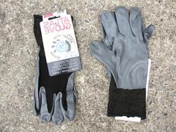 Atlas 370 Protective Gardening Gloves Nitrile Nylon Lining L