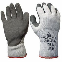 Showa Atlas 451 Large Gray Thermal Work Gloves, 12 Pairs