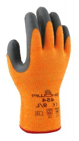 SHOWA ATLAS 454 THERMA FIT INSULATED GLOVES HI VIS - Size S,