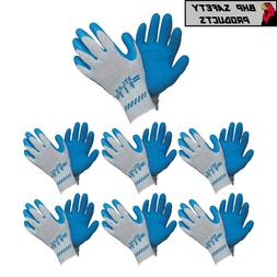 ATLAS FIT 300 SHOWA NATURAL LATEX PALM BLUE LARGE RUBBER WOR