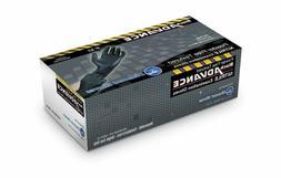 Diamond Gloves Black Advance Nitrile Examination Powder-Free