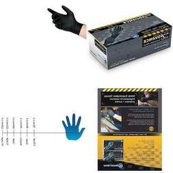 Diamond Gloves Black Advance Powder-Free Nitrile Examination