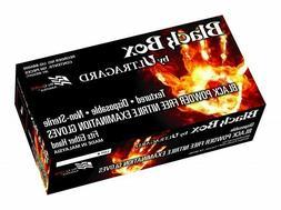 Black Box - Premium Black Powder Free Nitrile Exam Gloves 5.