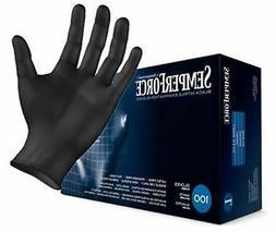 Black Nitrile Exam Gloves Size Sm-XXLarge FREE SHIPPING
