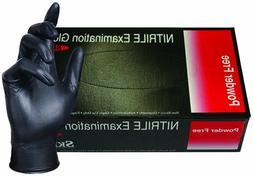 SKINTX BLK50010-M-BX Nitrile Medical Grade Examination Glove
