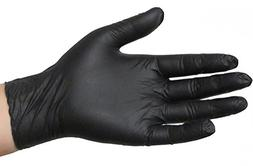 Black Powder Free Nitrile Examination Gloves