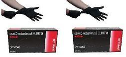 Skintx BLK50015-XL-x2Inner Black Nitrile Exam Powder Free Gl