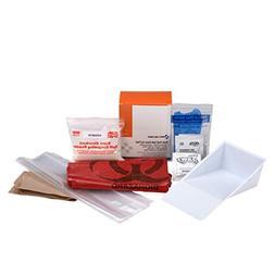 Bloodborne Pathogen  Spill Clean-Up Pack, 22 Piece   OSHA Co