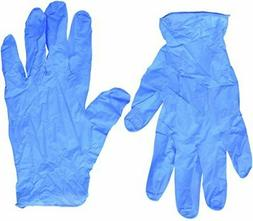 Semperguard Blue Nitrile Disposable Gloves Powder Free )
