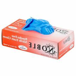 Blue Nitrile EXAM Gloves POWDER FREE Large 4 Mil 100 PCS BUY